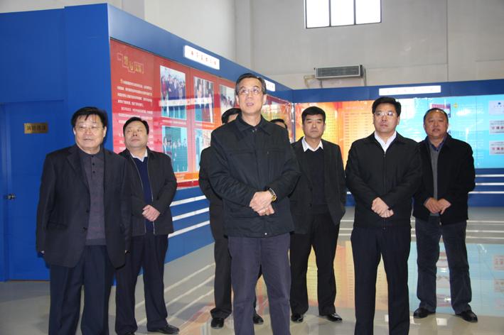 省高级人民法院党组书记、院长白泉民到泰开集团视察